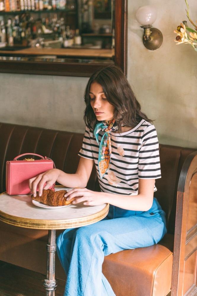 Silk Scarves, Parisian style